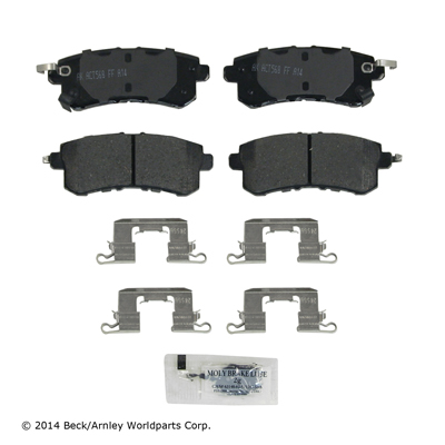 Akebono Rear Brake Pads