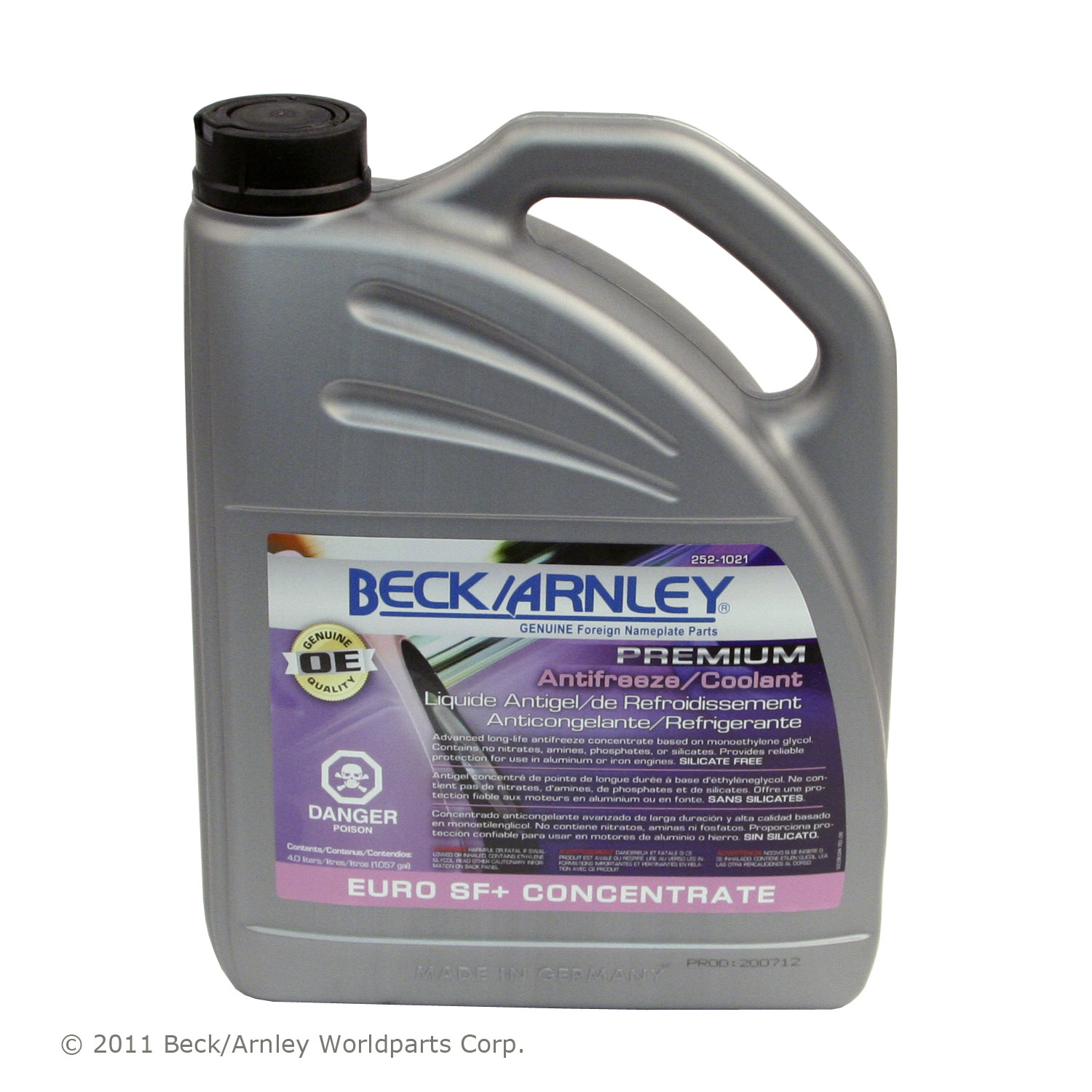Beck Arnley Euro Lilac Coolant 1