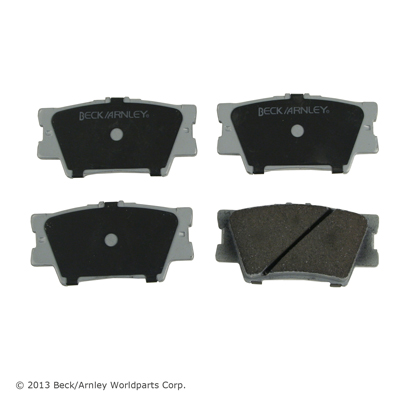 Beck Arnley Brake Pads Rear T