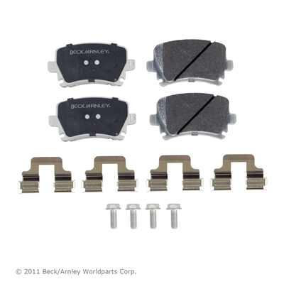Beck Arnley Brake Pads Rear A/V