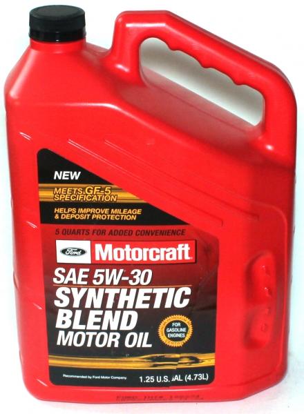 MotorCraft 5W30 Syn Blend